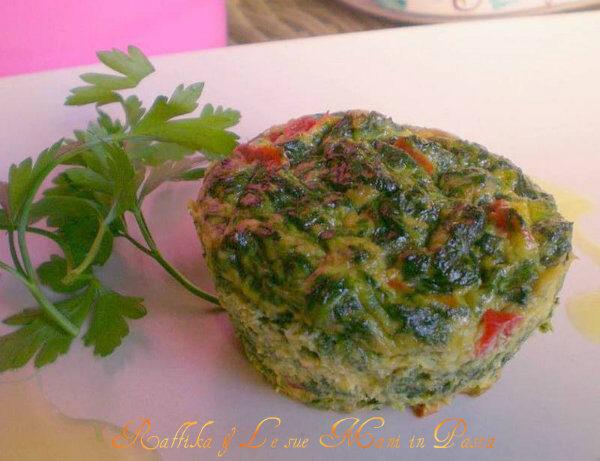 Mini quiche alle verdure,ricetta sfiziosa