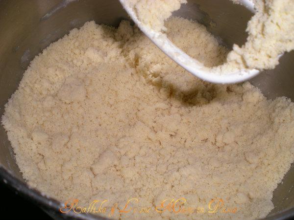 Pasta frolla per KitchenAid (impasto sabbioso)