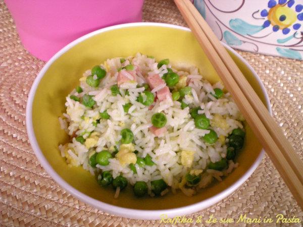 Riso alla cantonese,ricetta cinese