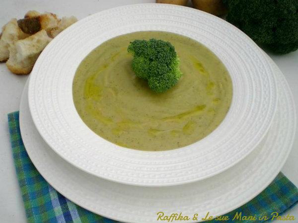 Vellutata di patate e broccoli