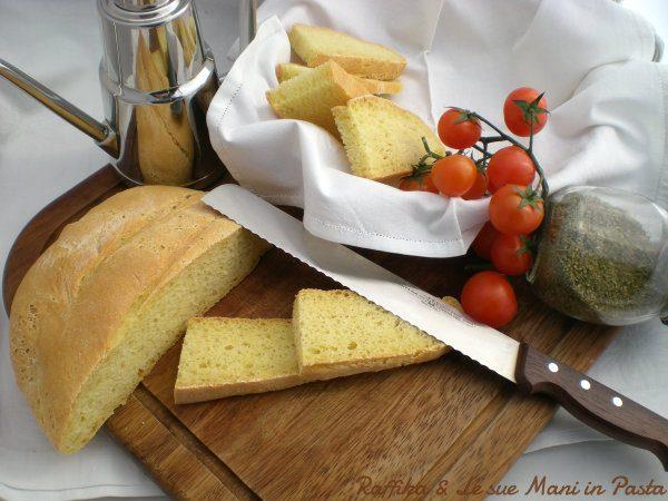 Pane di semola,ricetta lievitata