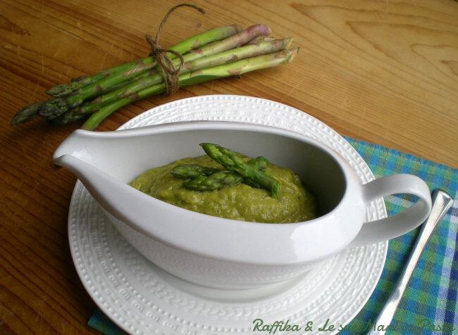 Salsa di asparagi,ricetta base