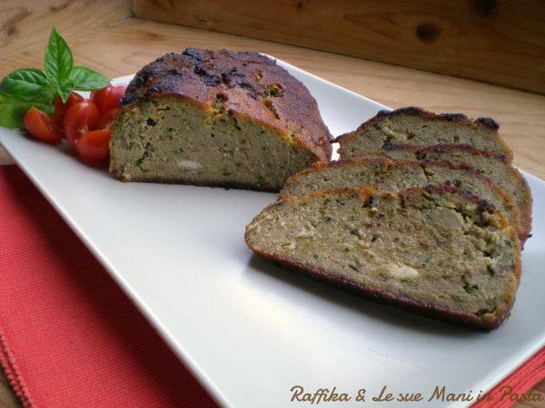 Polpettone di carne e zucchine