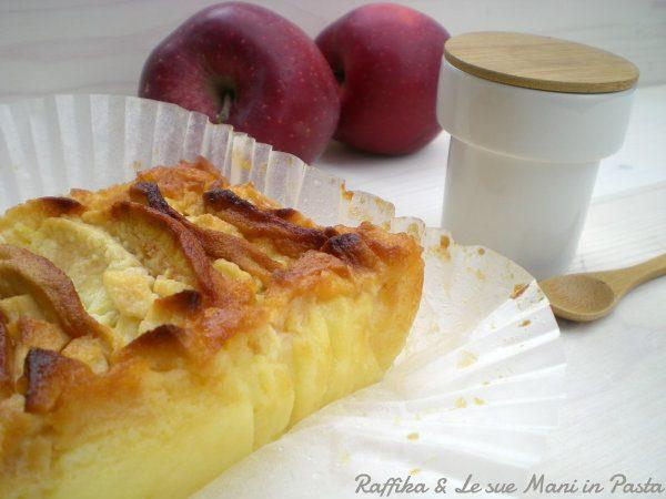 Plumcake di mele cremoso