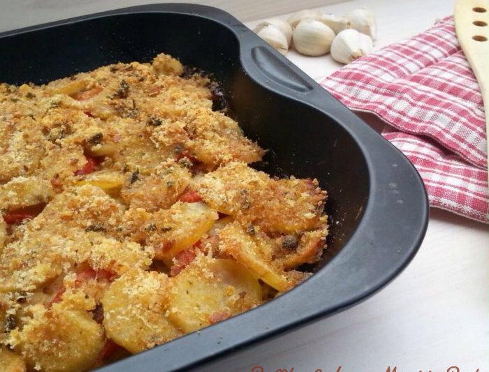 Baccalà al forno con patate