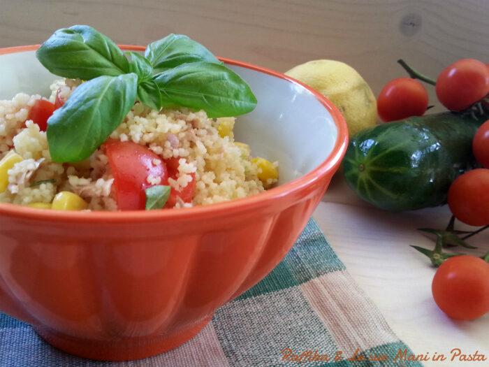 Couscous in insalata