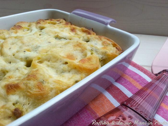 Girelle di lasagne agli asparagi