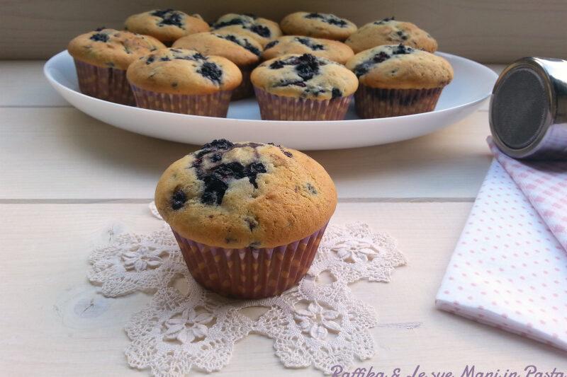 Muffins ai gelsi neri