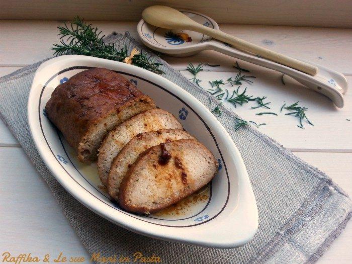 Polpettone di pollo e tacchino al forno