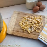 Tagliatelle all'uovo per KitchenAid
