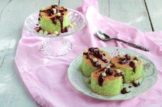 Torta hulk menta e cioccolato