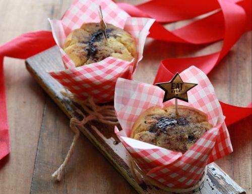 Muffin ripieni di marmellata