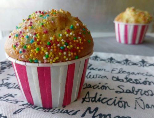 Muffin al farro con yogurt e mele