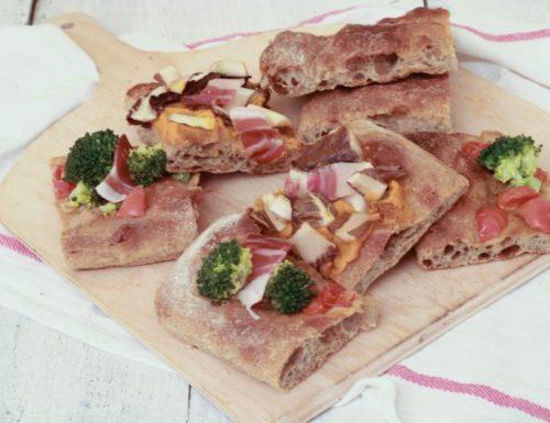Pizza in teglia lievitazione 24 h