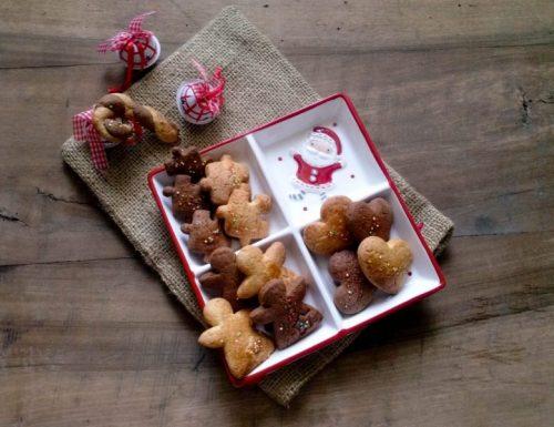 Biscotti romagnoli (zuccherini) bicolore