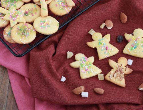 Biscotti con farina di mandorle e zenzero