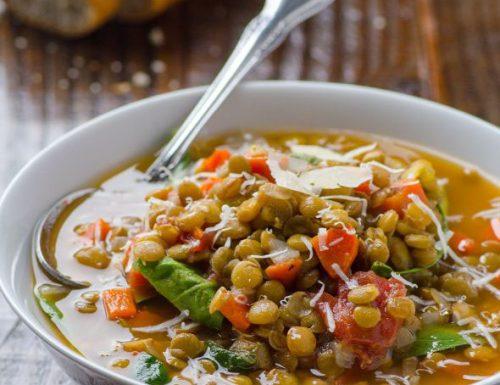 Zuppa di lenticchie di capodanno