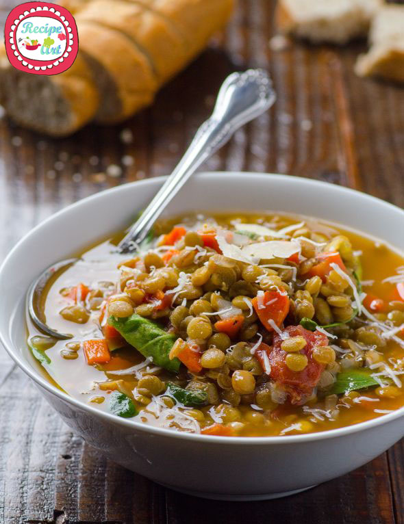 zuppa di lenticchie di capodanno copy