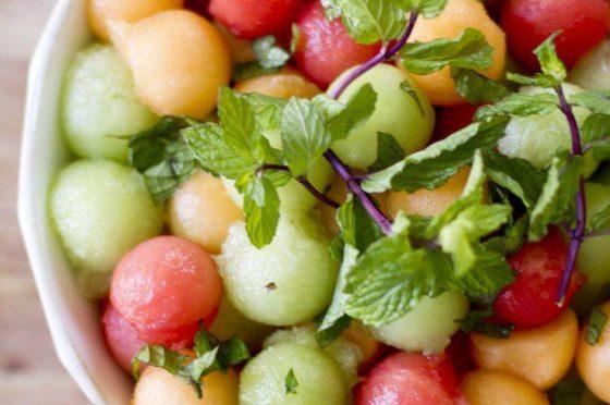 Insalata ai tre meloni
