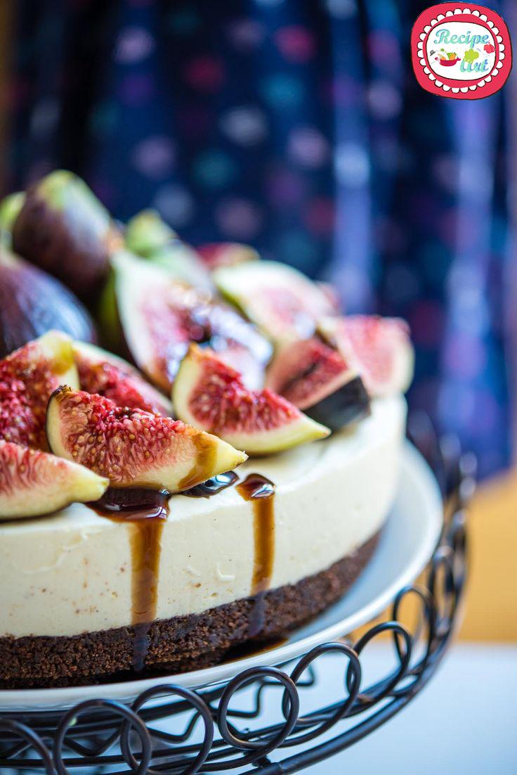 cheesecake salata ai fichi e baslamico