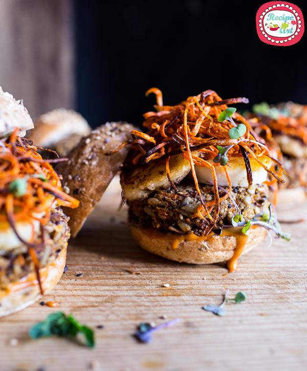 Panino burger d'autunno