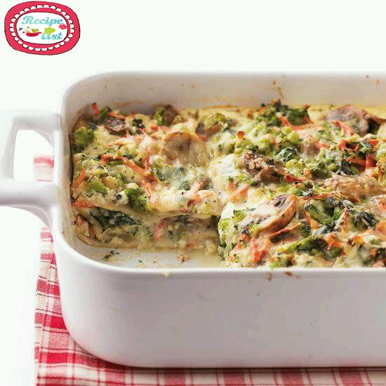 Lasagna Vegetariana Recipeart