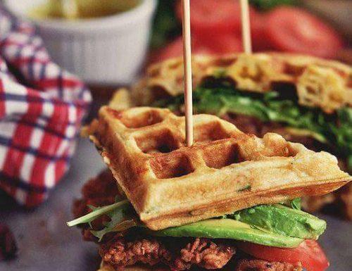 Brunch Waffles – Cialde salate da colazione