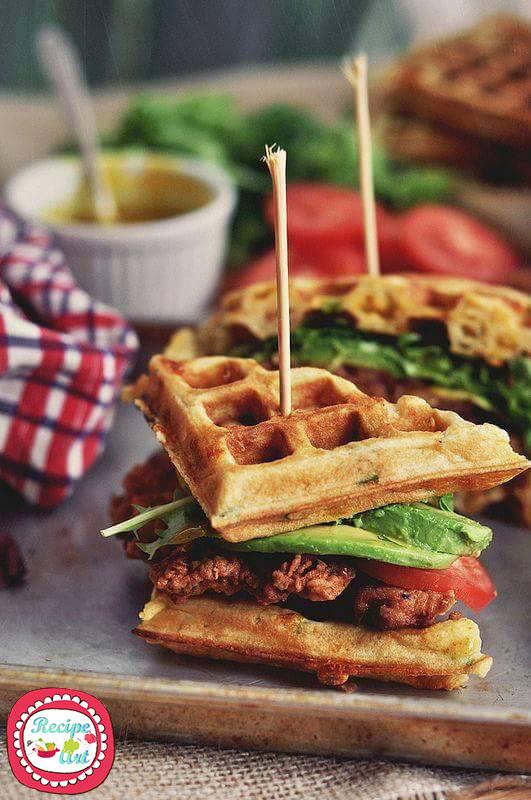 Brunch waffles cialde salate da colazione ricetta ed for Preparare un brunch