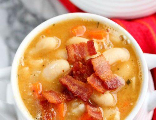 Zuppa di fagioli – Sopa de habas (Messico)