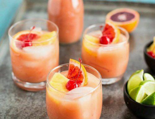 Aperitivo analcolico con i Mocktails! – Punch al Tè verde e arancia rossa