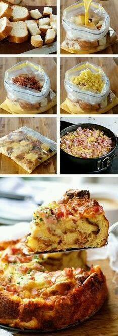 tutorial torta di pane