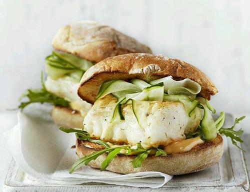 Panino Fish Burger