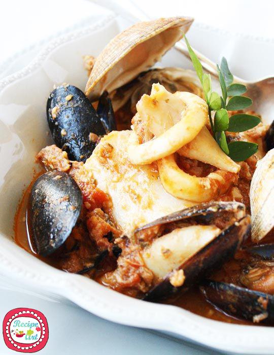 Zarzuela - zuppa di pesc