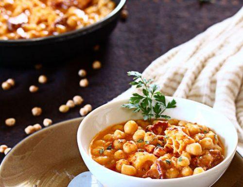 Zuppa di trippa e fagioli (Lazio)