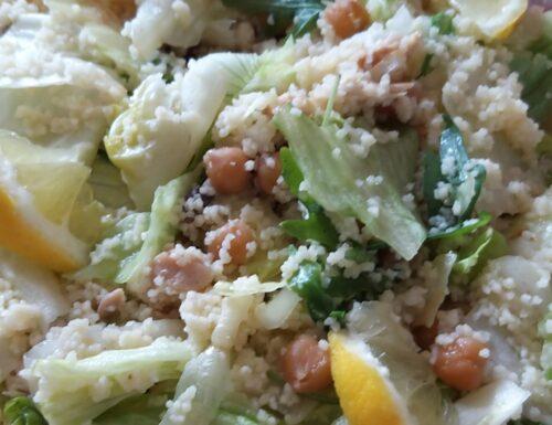 Insalata di Quinoa e Ceci profumata al limone