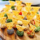 Tartufini al formaggio variegati