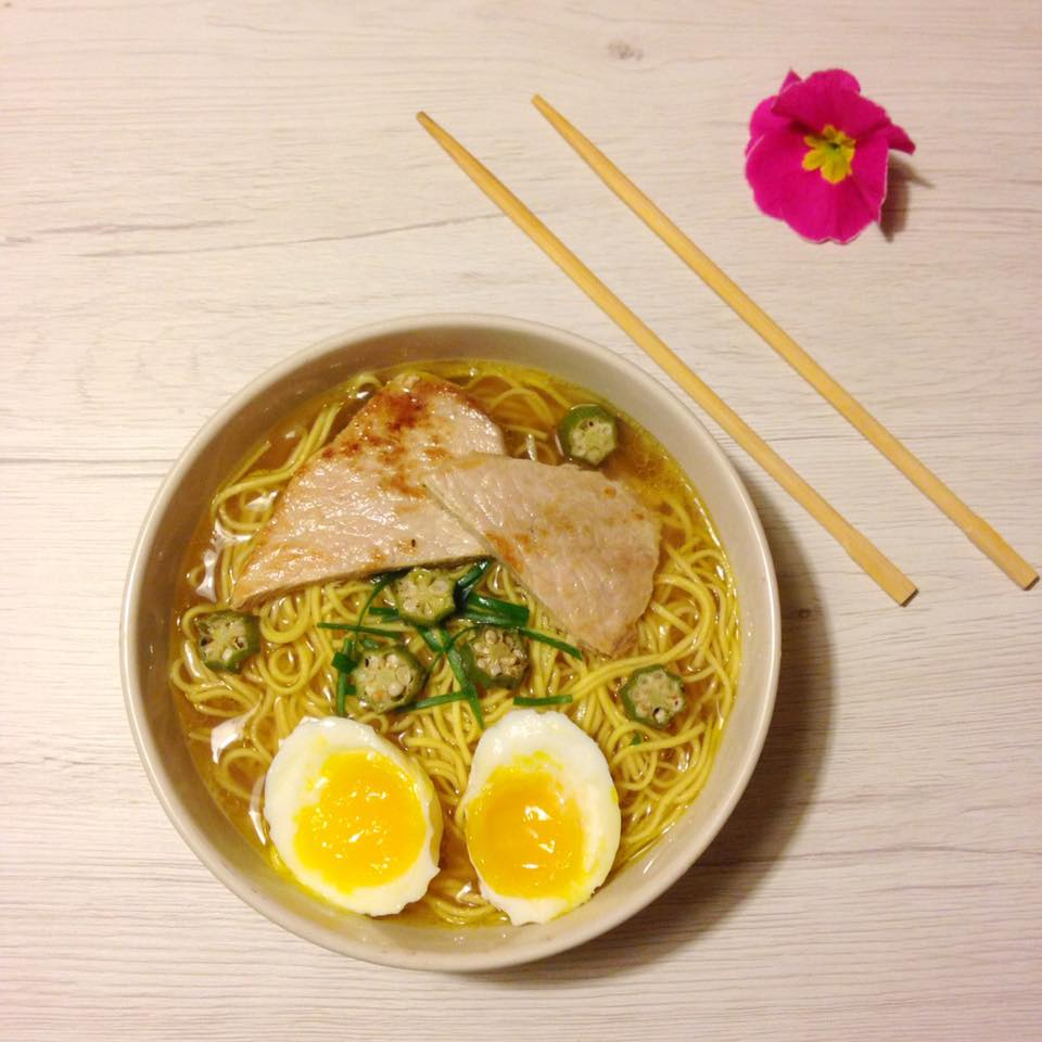RAMEN-La mia versione del famoso piatto orientale