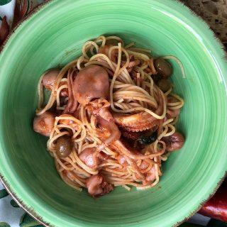 Spaghetti con i novellini