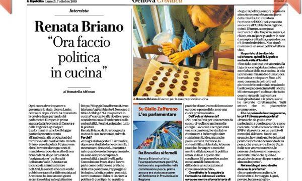 """Parlano del blog su """"La Repubblica"""""""