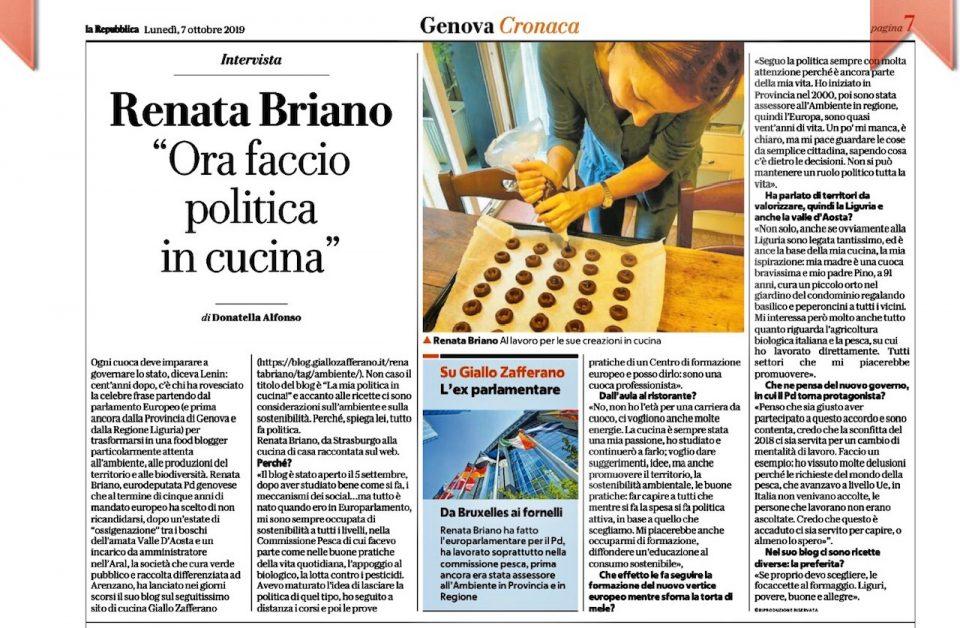 La Repubblica parla del blog