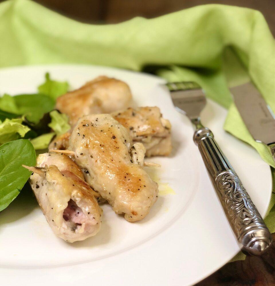 Bocconcini di pollo al vino bianco