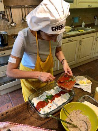 Cannelloni ripieni all'italiana