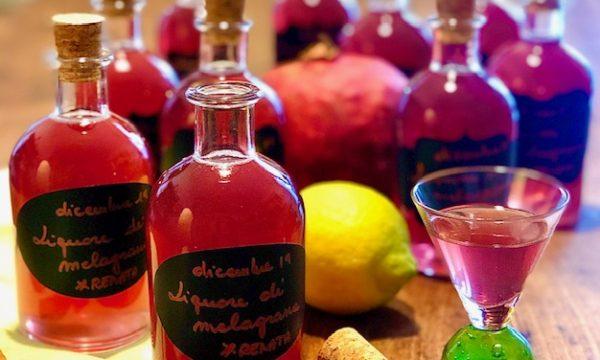 Liquore di melagrana