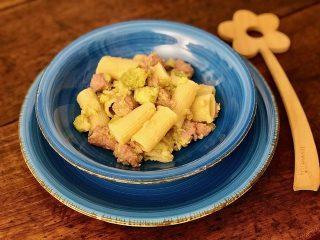 Pasta con borccolata e salsiccia