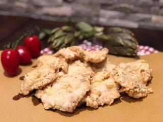 Petto di pollo alla parigina con erbe aromatiche