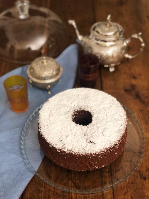 Chiffon cake al cioccolato 2