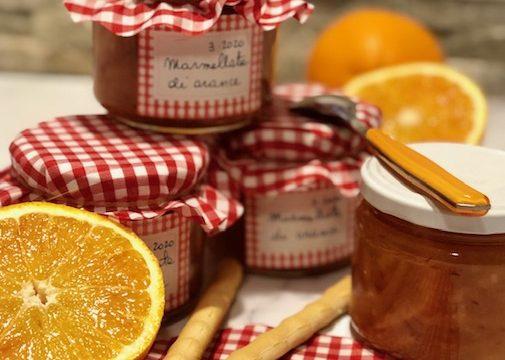 Marmellata di arance con la scorza