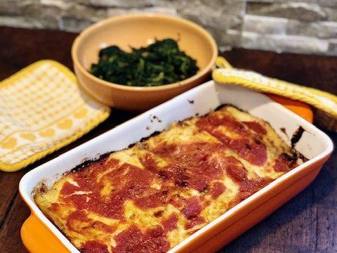 Cannelloni ripieni di spinaci e ricotta