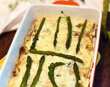 Crespelline agli asparagi