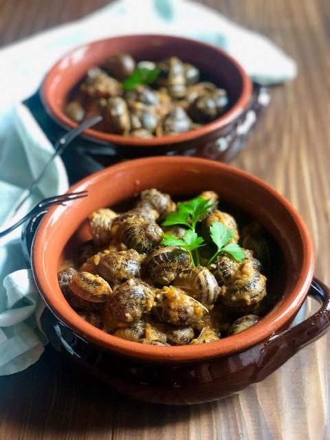 Lumache in zemin (ricetta ligure)